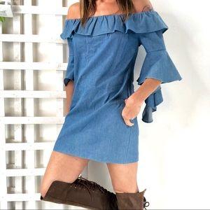 English Factory Ruffle Dress